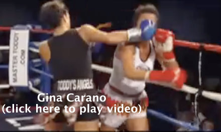 Gina Carano Fighting Footage
