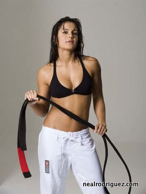Kyra Gracie - Swinging the Belt