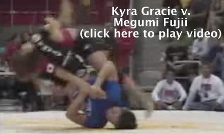 Kyra Gracie vs. Megumi Fujii