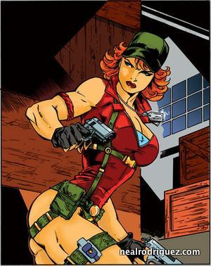 Lady Jaye in the 80s