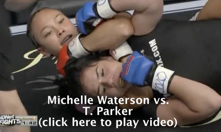 Michelle Waterson vs. T. Parker