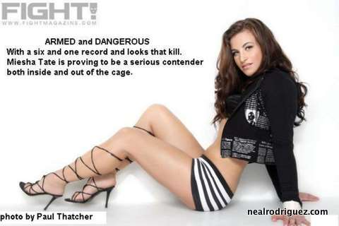 Miesha Tate Armed and Dangerous