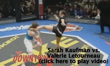 Sarah Kaufman vs. Valeri Letourneau
